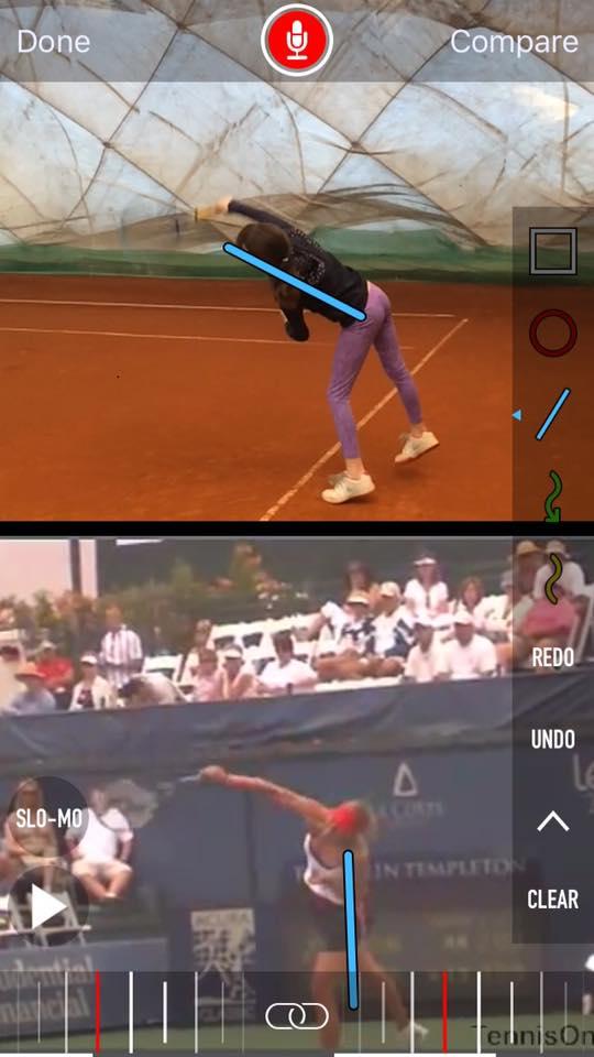 Szczegółowa analiza gry w tenisa