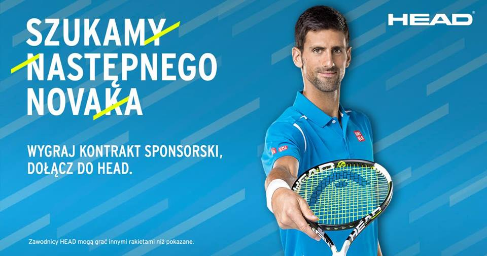 Kampania head tennis 2016 - szukamy następnego Novaka