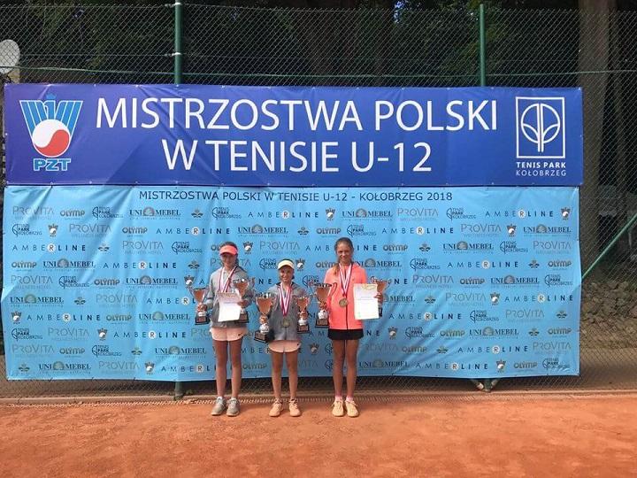 Mistrzostwa Polski w tenisie do 12 lat, w którym Monika Stankiewicz została mistrzynią Polski w kategorii Skrzatek